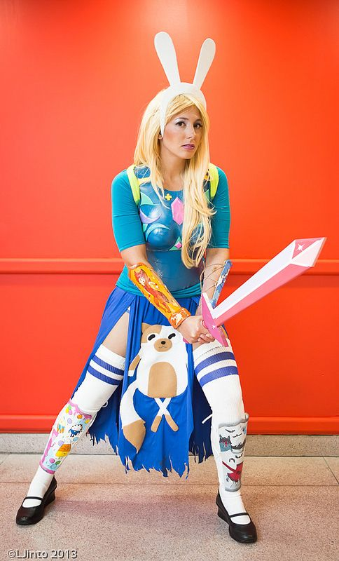 Adventure Time. Cosplay by Ashley Hay. Photo by LJinto. #cosplay