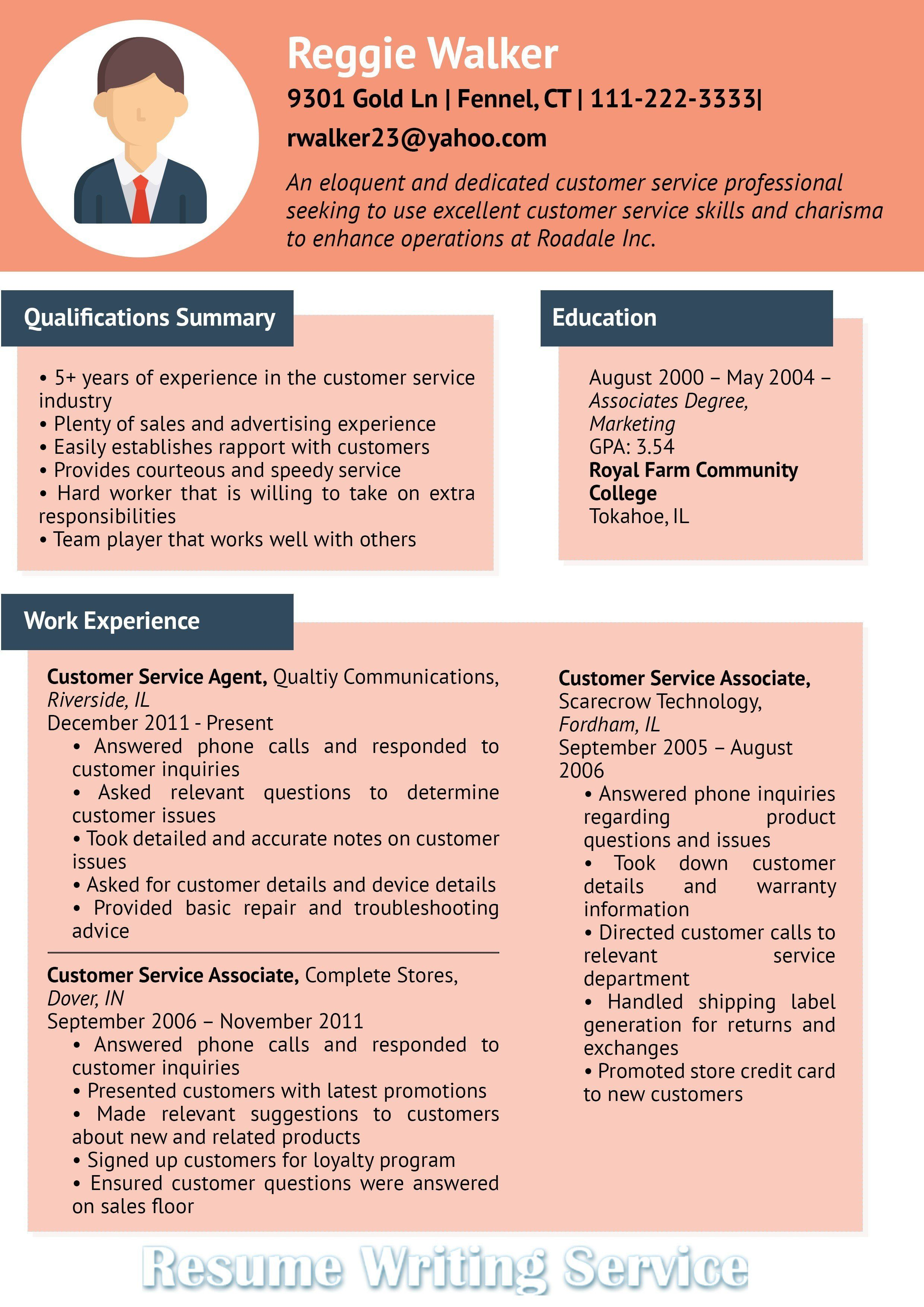 Are Resume Writing Services Worth It Luxury Customer Service Infographic Professional Re Resume Skills Professional Resume Writing Service Best Resume Format
