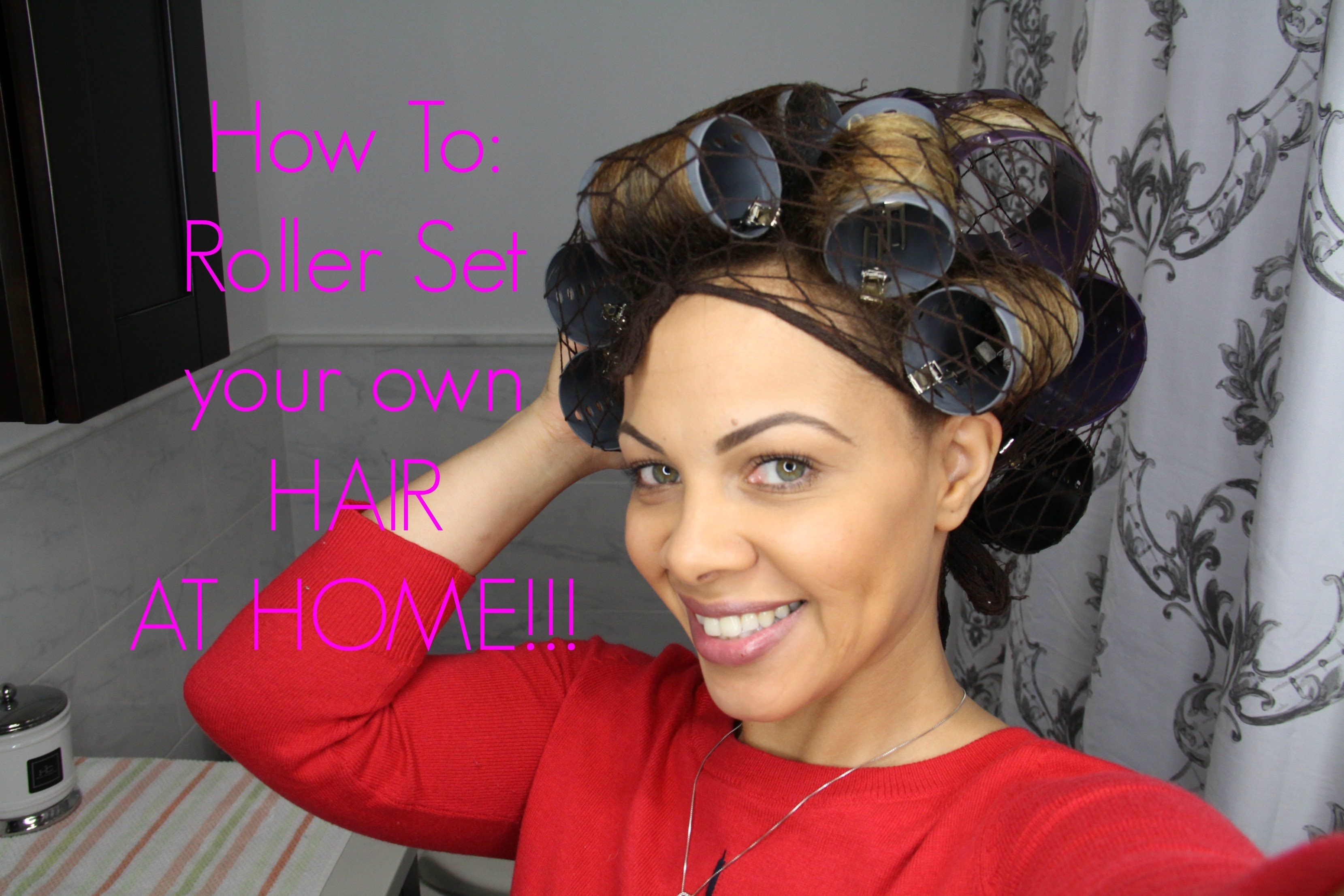 Dominican Hair Style: How To: Dominican Roller Set At HOME