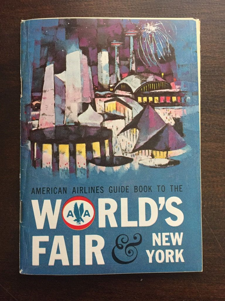 Vintage 1960s 1964 World's Fair New York Visitor Guide