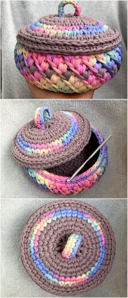 50 Top Trending Crochet Free Pattern Ideas For You And Your Home #crochetbowl