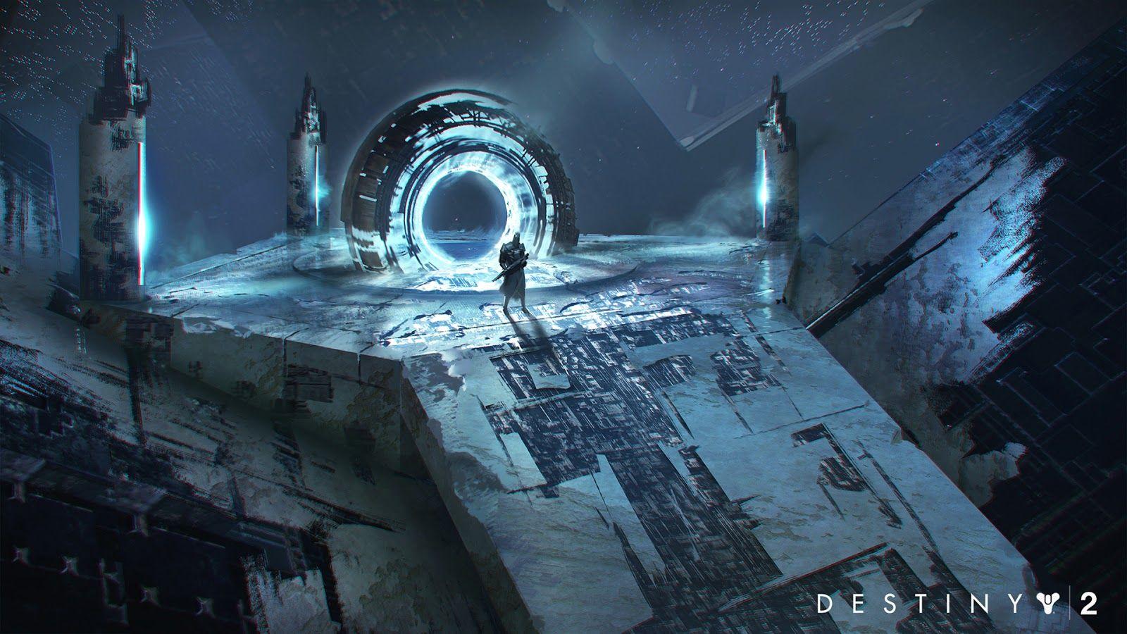 Destiny 2 Concept Art by Jeremy Fenske Concept art world