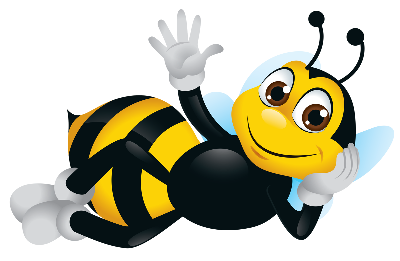 Картинках, смешная картинка с пчелой