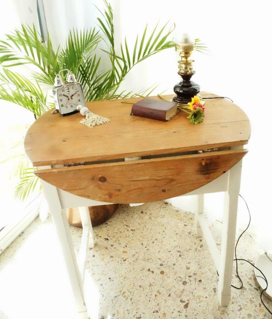 Antigua mesa de cocina con alas | Mesas de cocina, Mesas de ...