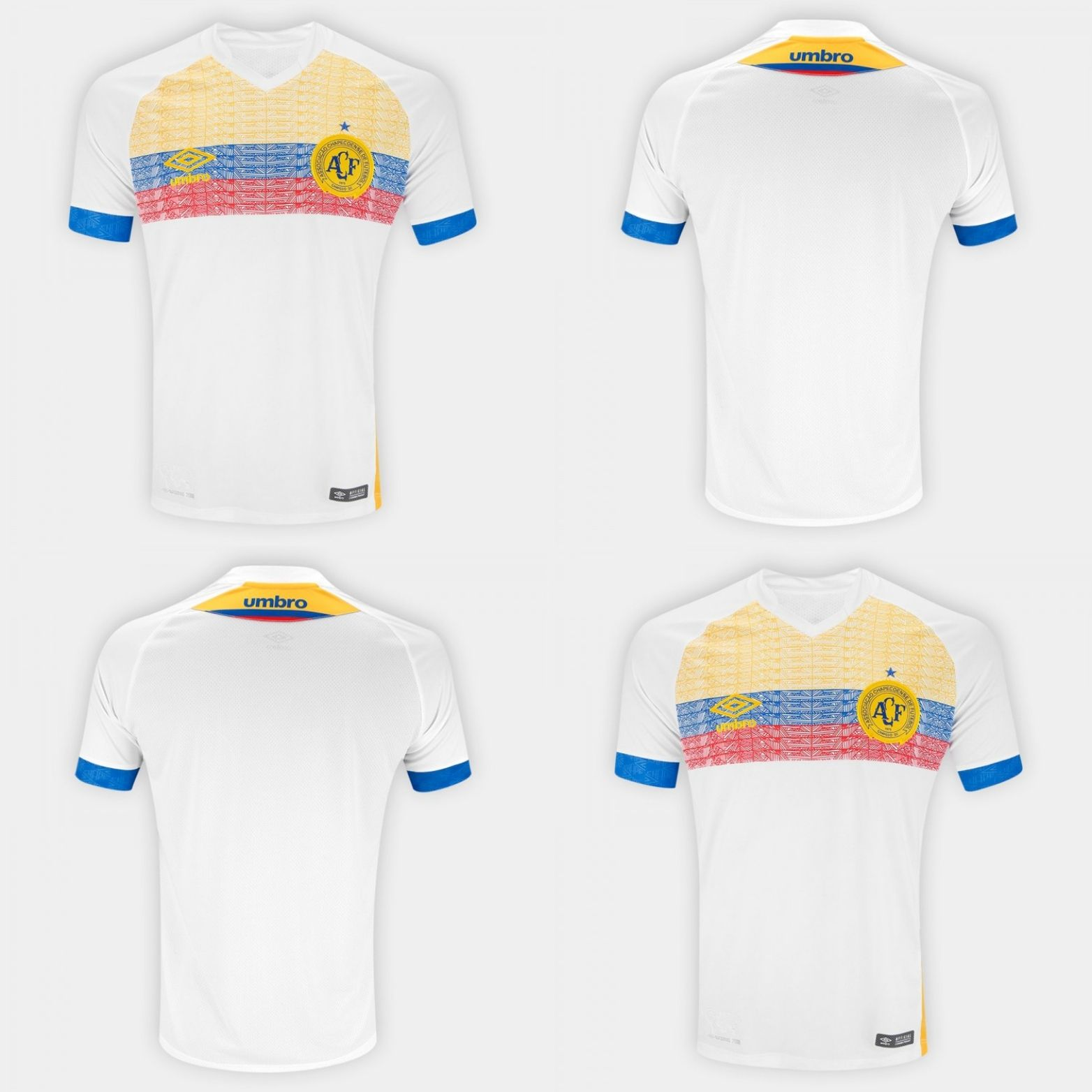 1b55213cc Umbro Chape Nations 2018 T-Shirt (Casmiseta) designed in memory of  Chapecoense and in honor of Colombia. Que el futbol nos une.  Chape   Chapeco  Colombia La ...