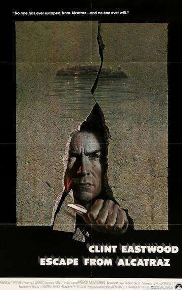 Escape From Alcatraz 1979 Alcatraz Clint Eastwood Movies Eastwood Movies