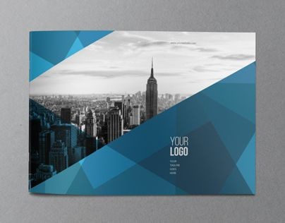 Abstract Architecture Brochure Design Template