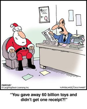 Christmas Accounting Jokes.Farcus By David Waisglass And Gordon Coulthart For August 17