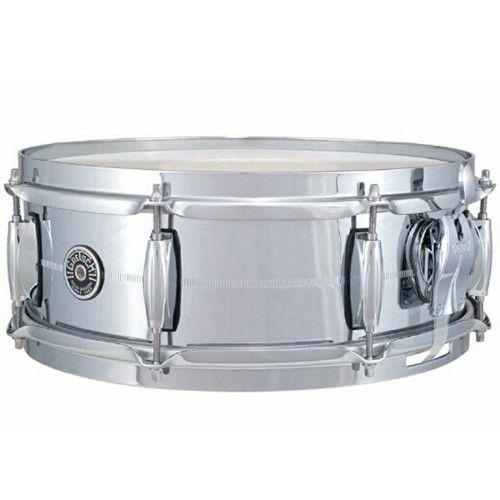 gretsch brooklyn chrome over brass 5 x14 snare drum snare drums gretsch drums snare drum. Black Bedroom Furniture Sets. Home Design Ideas