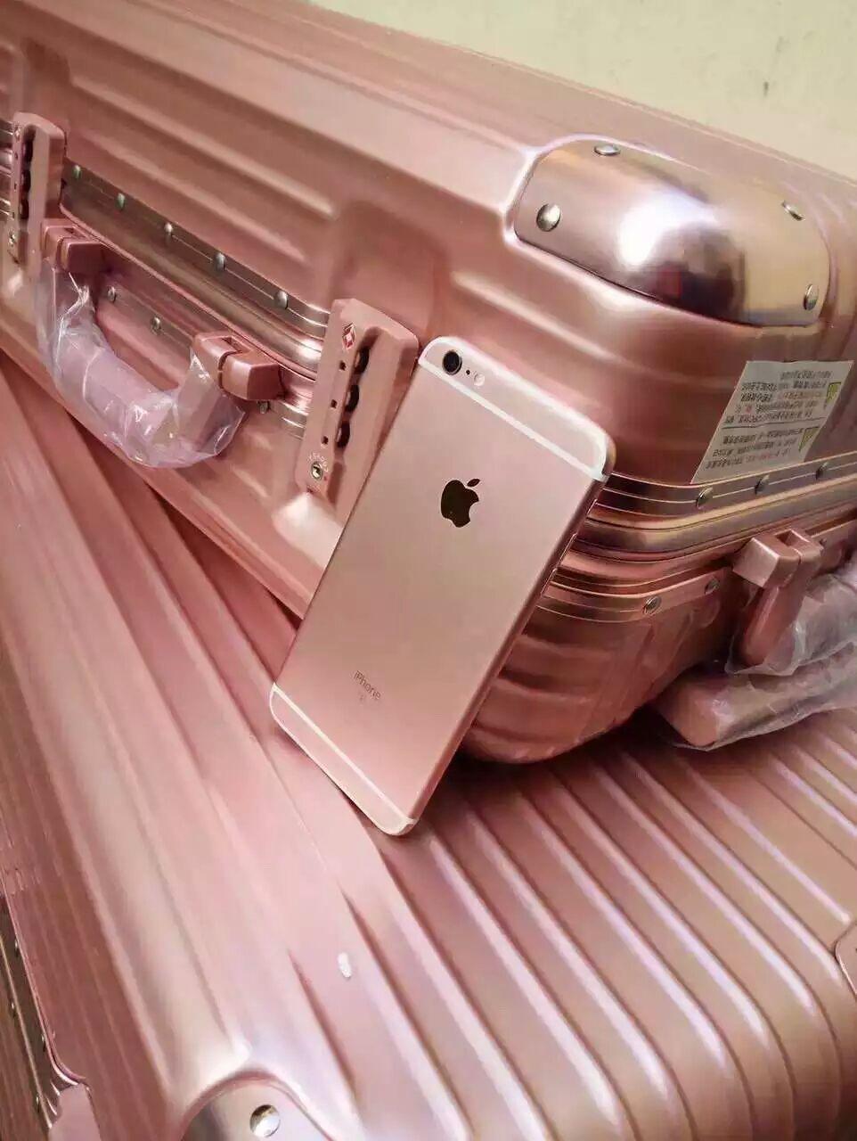 20 24 26 Inch Trolley Gold Pink Silver Black Aluminium Frame Luggage ...