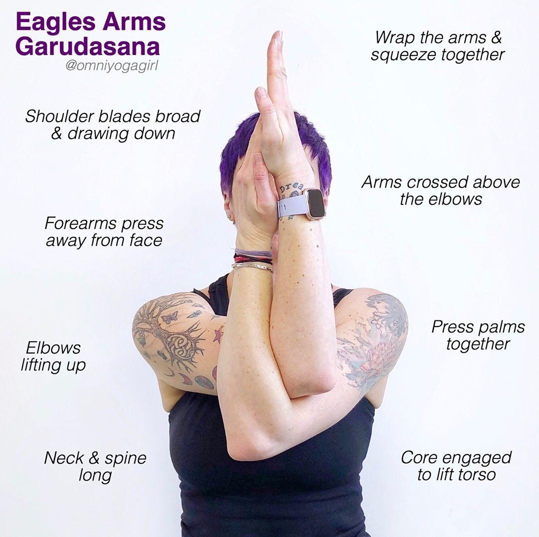 50 Yoga MGK Garudasana Eagle Pose ideas   eagle pose, yoga, yoga ...