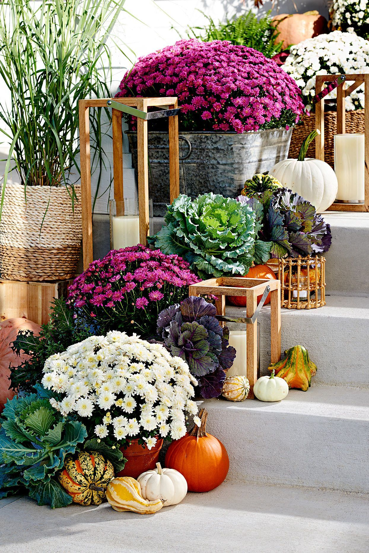 36 Pretty Fall Front Entry Ideas You Can Keep Up All Season Long