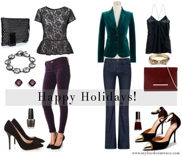 8 outfit ideas for casual christmas party - 8 Outfit Ideas For Casual Christmas Party Evening Outfits