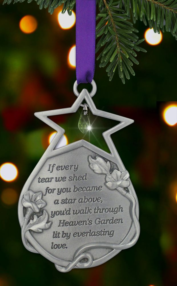 Remembrance Miscarriage Baby Child Infant Loss Christmas Ornament Bereavement Sympathy Gift Custom Hand Stamped Keepsake Ornaments