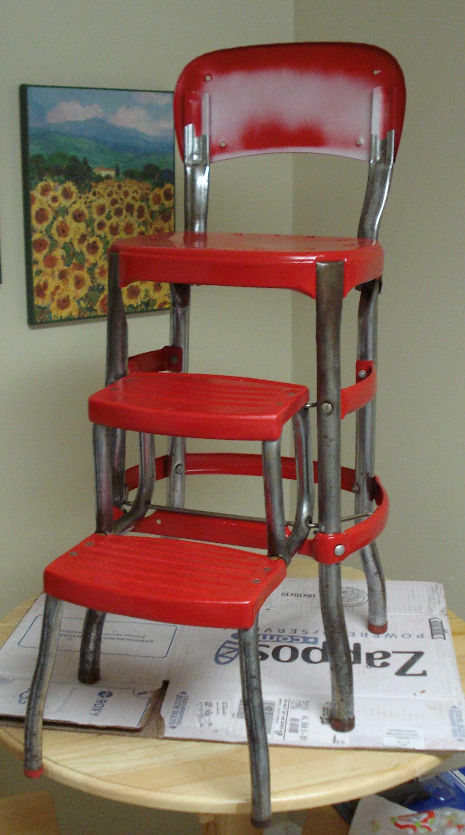 Cosco Step Ladder Chair Restoration Ladder Chair Chair