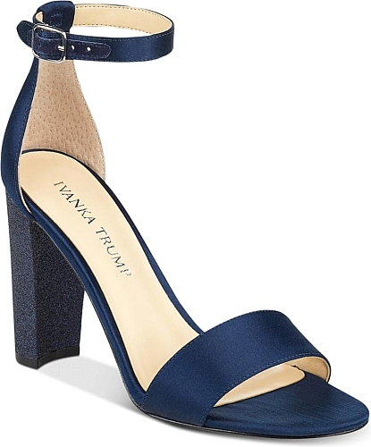 Here is the Ivanka Trump Emalyn Block-Heel Sandals. Awesome sandals  designed by Ivanka Trump available in Navy. Your feet will love these  sandals designed ...