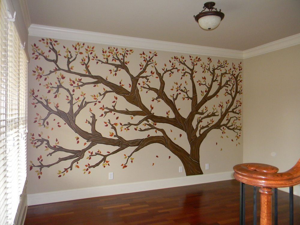 Family Tree Murals For Walls a color affair murals - family tree mural - this is the tree you