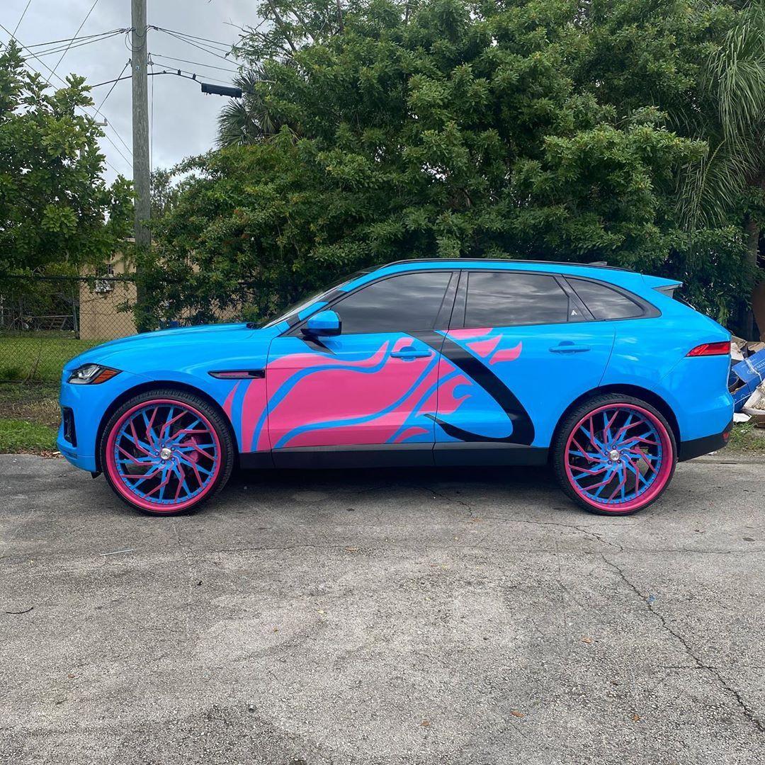 Ace 1 On Instagram Rickyrozay0219 Miami Heat Jaguar F Pace On 26 S Asantis Acewhips Net Jaguar Fpace Jagtruck 26s Asantiwheels Jaguar Miami Heat Heat