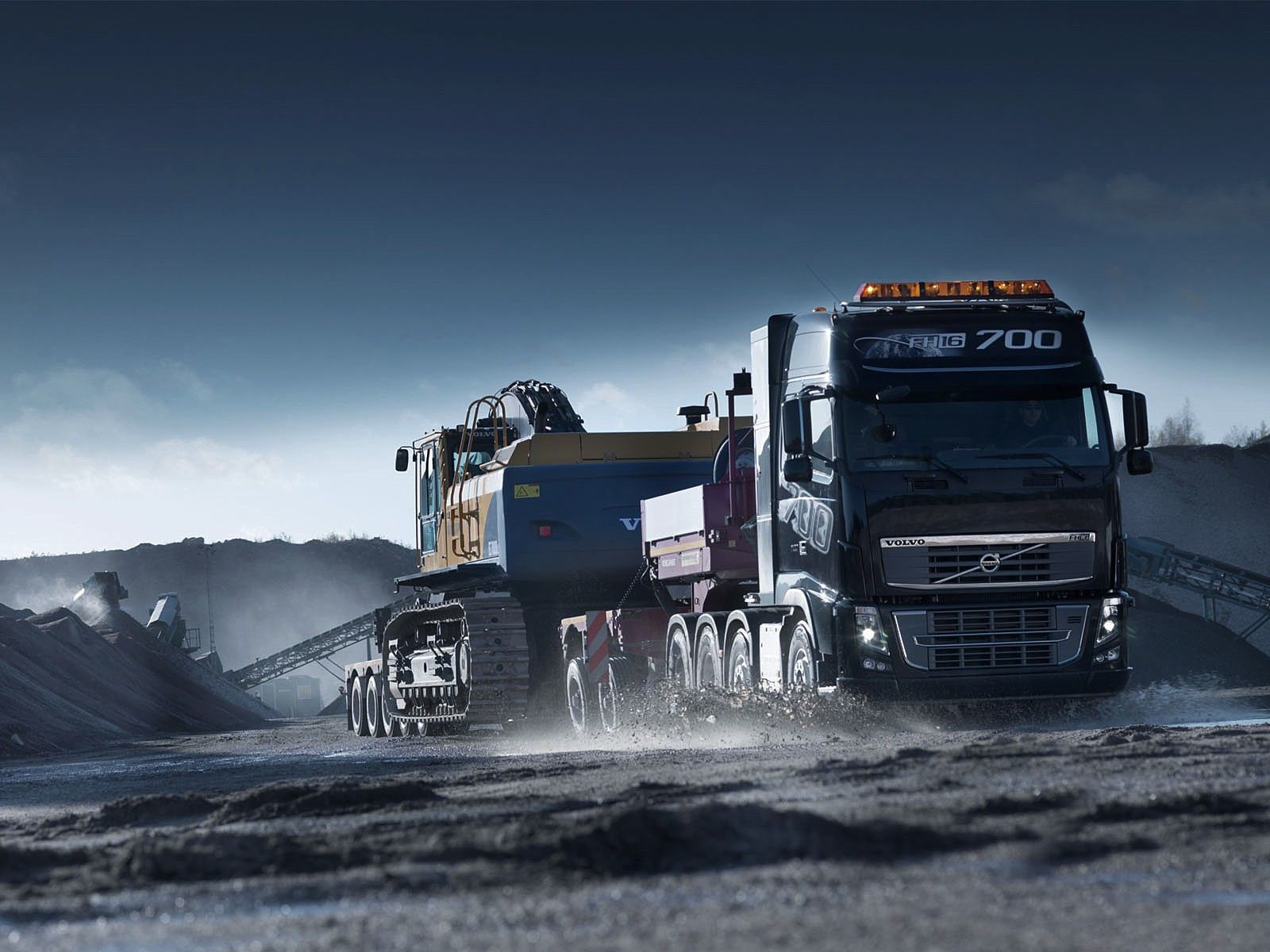 Volvo Truck Wallpaper Full HD EJv