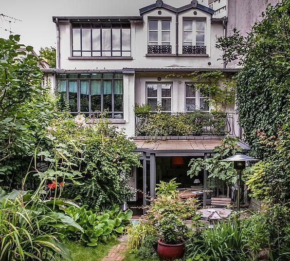 l aurey des jardins paysagiste sur paris am nagement. Black Bedroom Furniture Sets. Home Design Ideas