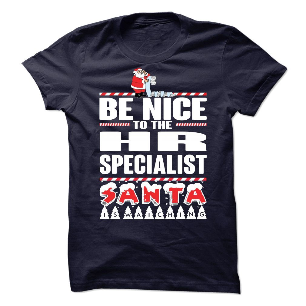 Shirt design brands -  Top Tshirt Brands Be Nice To The Hr Specialist Santa Is Watching Guys