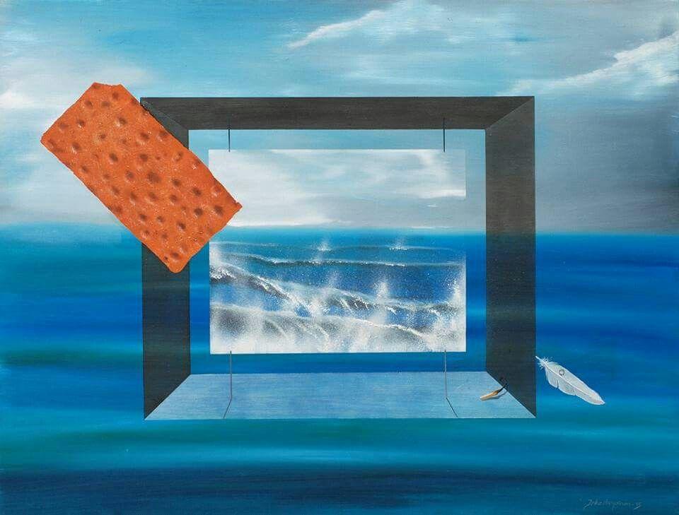 Vettä ja leipää, 65x85cm