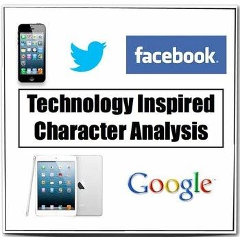 Character Analysis Assignments Technology  Google Ipad Students