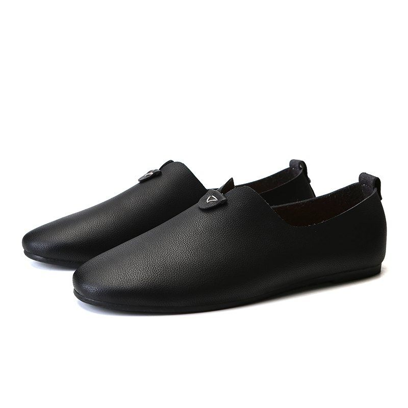 Casual leather shoes, Leather shoes men