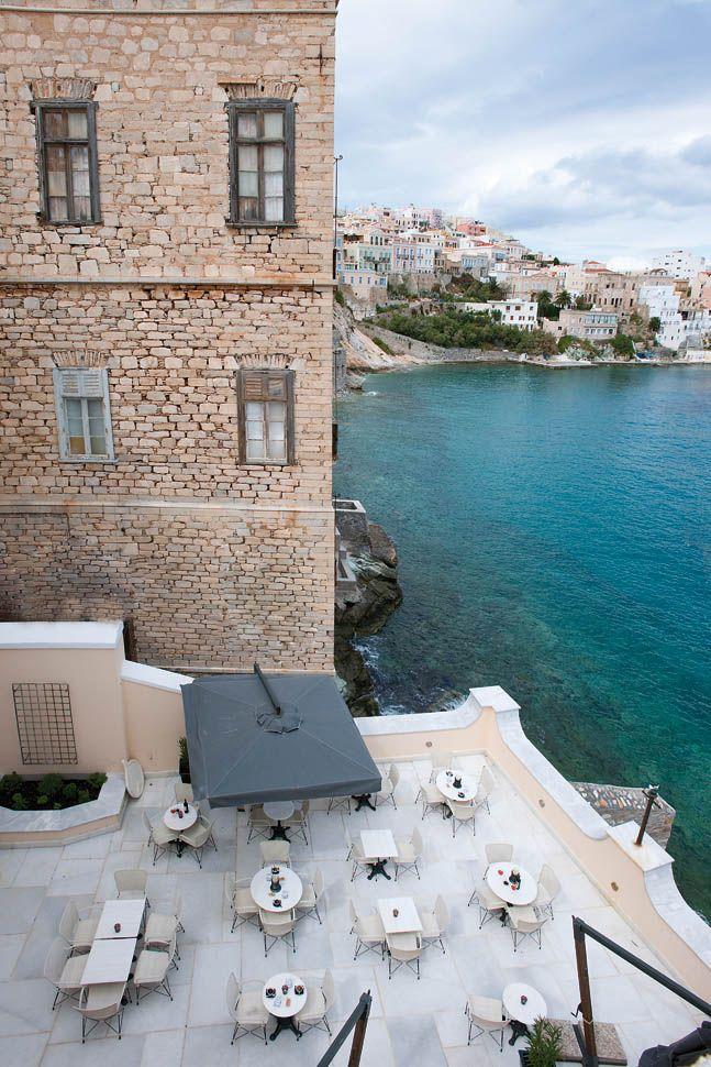 """Palazzo Ploes"" Hotel in Ermoupoli, Syros"