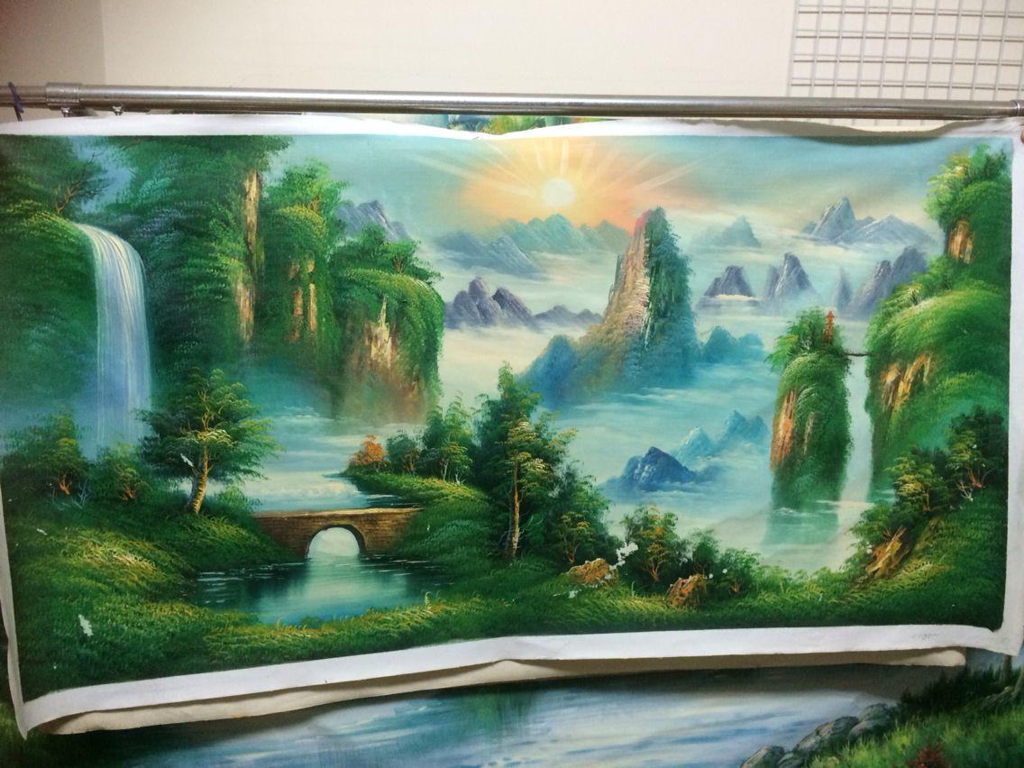 feng shui painting Painting, Feng shui paintings, Feng shui