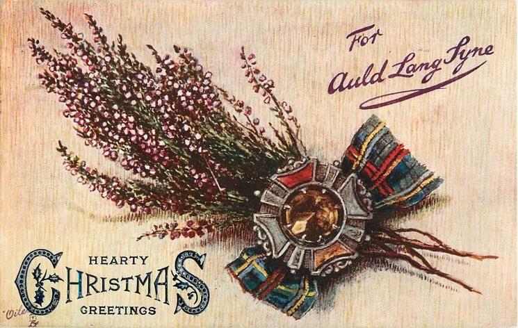 FOR AULD LANG SYNE Auld lang syne, Auld, Christmas ephemera