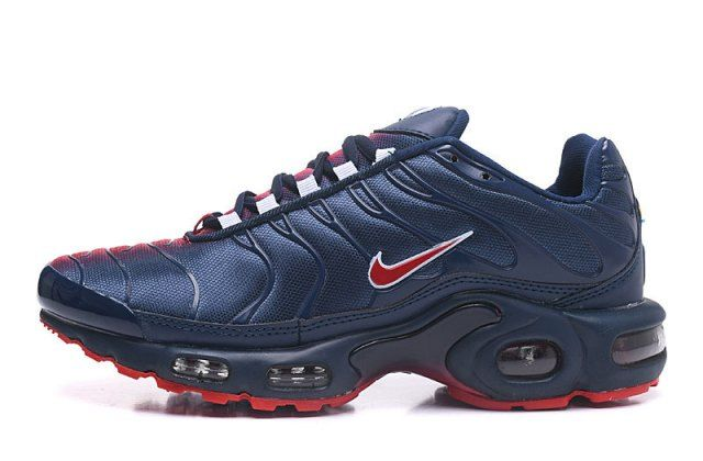 air max plus blue and red