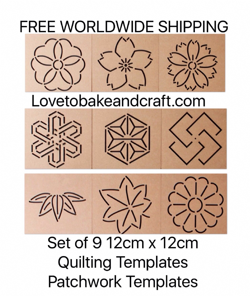 Quilting templates Patchwork templates Sewing templates Quilting ... : plastic quilting stencils - Adamdwight.com