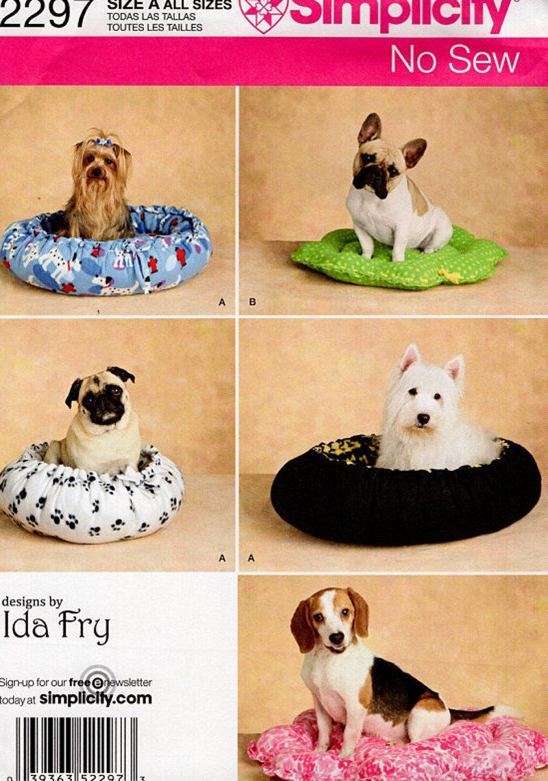Simplicity 2297 dog bed cat bed sewing pattern a all sizes simplicity 2297 dog bed cat bed sewing pattern a all sizes holiday gift jeuxipadfo Gallery