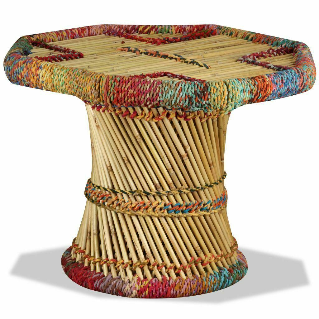 Table Basse Vidaxl En Bambou Details Salle A Manger De La Table