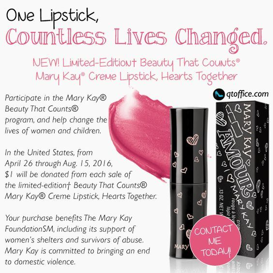 For every Lipstick bought from me, I will donate $2 00 of