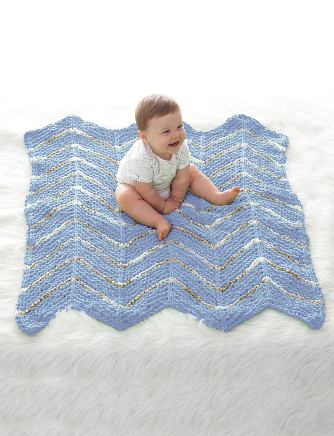 Yarnspirations.com - Bernat Smooth Sailing Baby Waves - Patterns ...