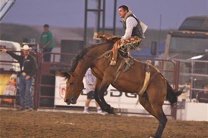 Saddle Bronc Rider Fort Madison Ia Fort Madison Rodeo