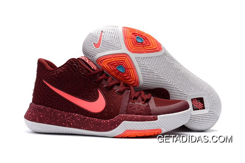 04647b3eb6d2 Authentic supply Nike Kyrie 3 womens shoes Team Red For Sale outlet the  world