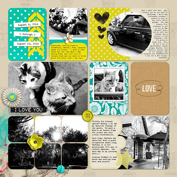 Digital Pocket Page by Kacy using You're The One that I Want Collab by Amanda Yi Designs and Re Kneipp