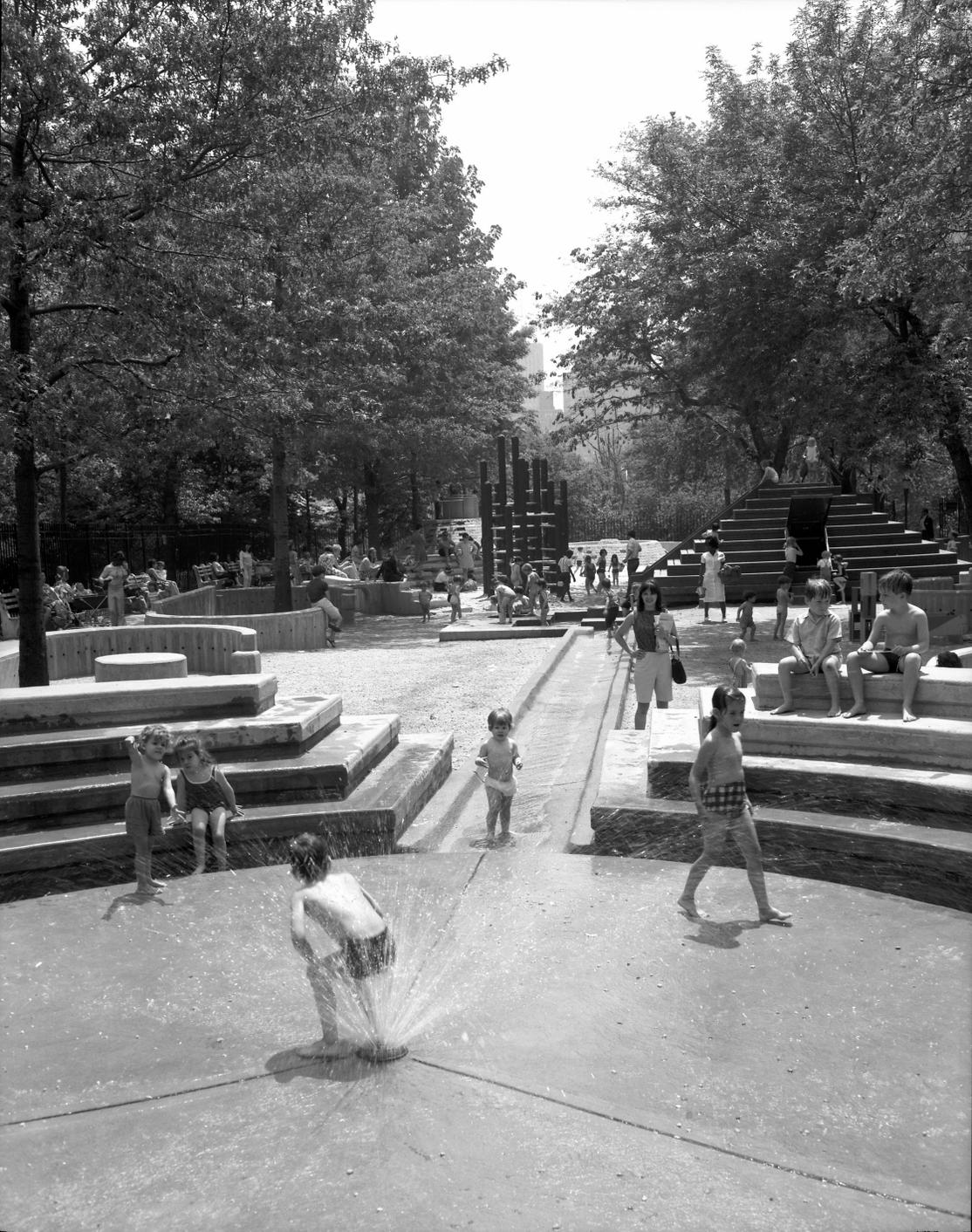 Richard Dattner Adventure Playground, West 67th Street