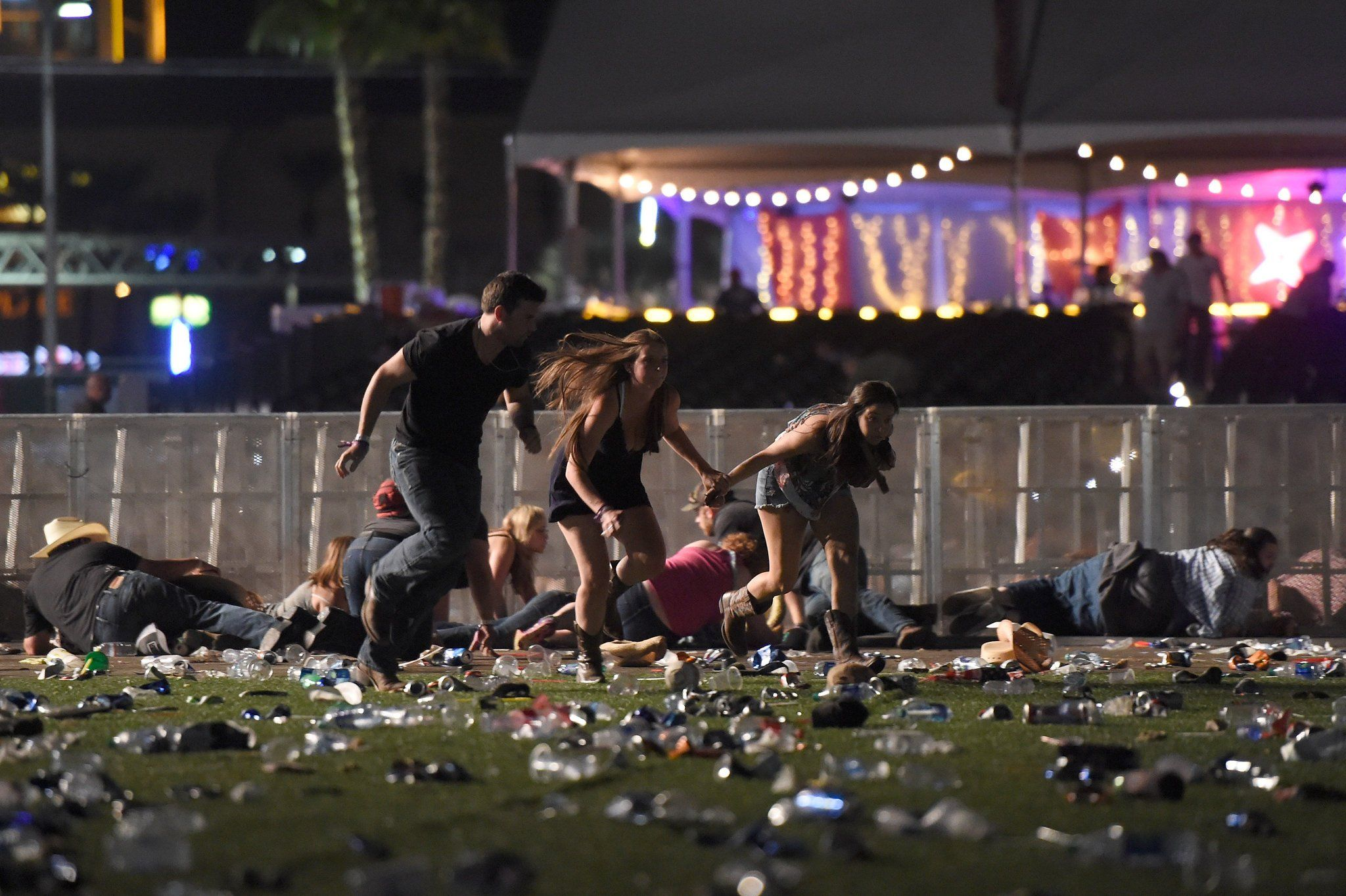 Las Vegas Shooting Near Mandalay Bay Is Said To Kill At Least 2
