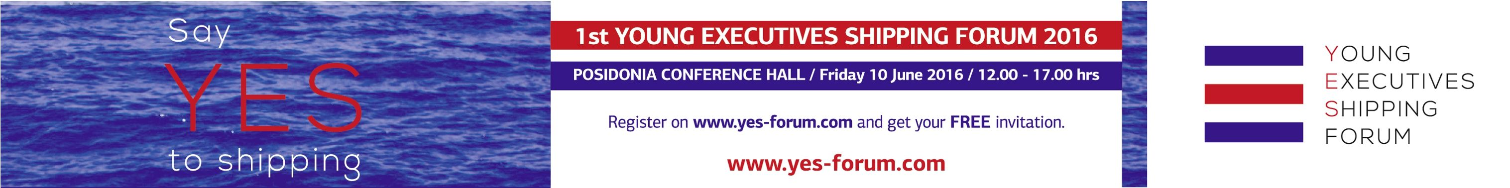 1st Young Executives Shipping Forum at Posidonia - Say YES to Shipping