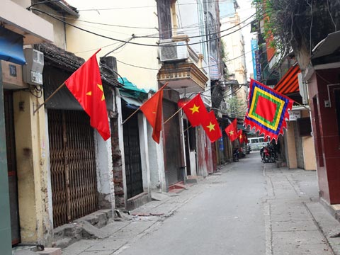 Không khí tĩnh lặng ở Hà Nội vào dịp Tết