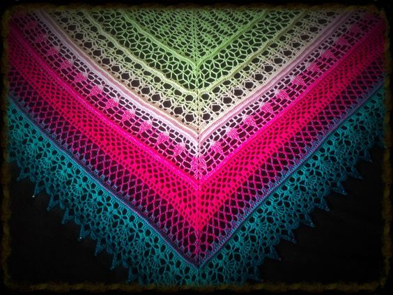 Edlothia Shawl By Jasmin Räsänen - Free Crochet Pattern - (ravelry ...