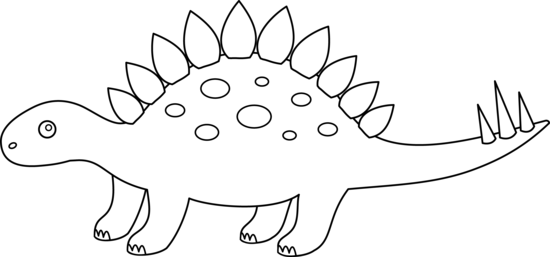 Stegosaurus Coloring Page Free Clip Art Dinosaur Outline Coloring Pages Outline Drawings