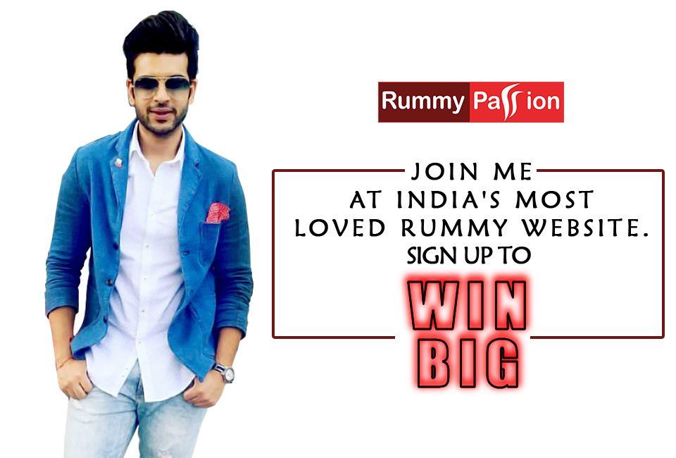 Join Karan Kundra and play thrilling games at Rummy