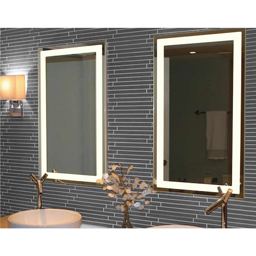 Trance Gold 20 X 36 Oblong Wall Mirror 60j32 Lamps Plus Mirror Wall Mirror Lamps Plus