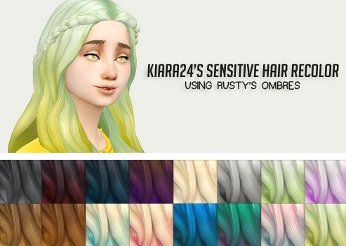Liahxsimblr: Kiara`s Sensitive hairstyle recolors - Sims 4 Hairs - http://sims4hairs.com/liahxsimblr-kiaras-sensitive-hairstyle-recolors/
