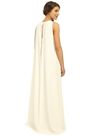 b24ee29f9ce 27 Wedding Dresses You Didn t Know You Could Get At Zappos. A Jill Stuart  cape back for any ~capable~ bride.